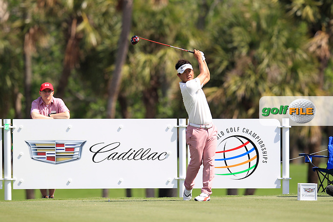 Hiroyuki Fujita (JAP) during the 1st round at the WGC Cadillac Championship, Blue Monster, Trump National Doral, Doral, Florida, USA<br /> Picture: Fran Caffrey / Golffile
