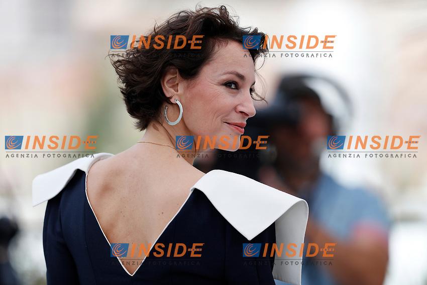 Jeanne Balibar<br /> Cannes 18-05-2017 70&deg;Edizione Festival del Cinema di Cannes. <br /> Foto Panoramic / Insidefoto