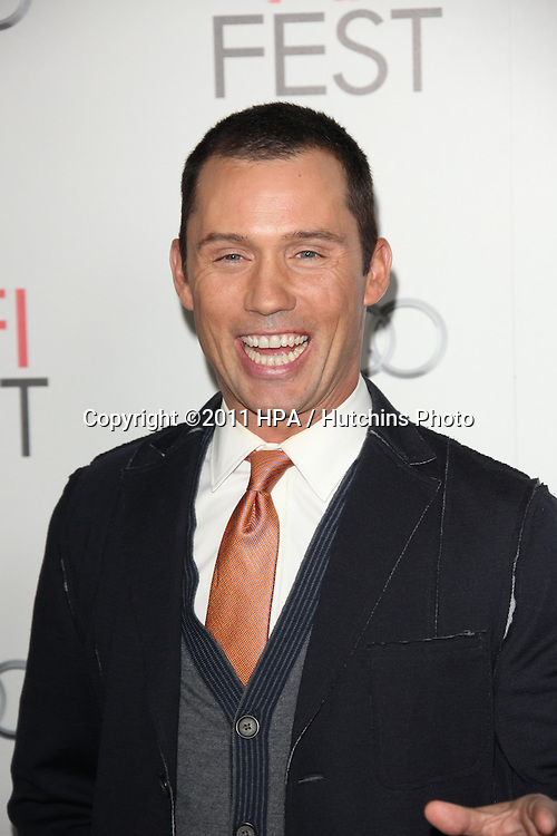 "LOS ANGELES - NOV 3:  Jeffrey Donovan arrives at the AFI FEST 2011 Presented By Audi - ""J. Edgar"" Opening Night Gala at Grauman's Chinese Theater on November 3, 2011 in Los Angeles, CA"