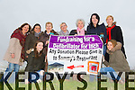 Eileen Kennedy, Ciara Kennedy, Nelly O'Shea, Aiden Twiss, Catherine Daly, Kay O'Shea, Selina O'Shea, Kathleen Daly, Louise Kennedy fundraising for a Defibrillator for Inch