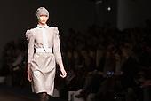Friday, 15 February 2013, London, England, UK. Catwalk Show by Designer Bora Aksu during London Fashion Week at Somerset House. Photo: Bettina Strenske