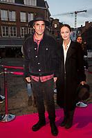 Vanessa Paradis & Samuel Benchetrit at the closing night of 32nd FIFF in Namur - Belgium