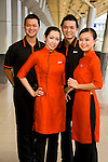 Photo shoot for Jetstar, at Tan Son Nhat Airport, 12 Dec 2008