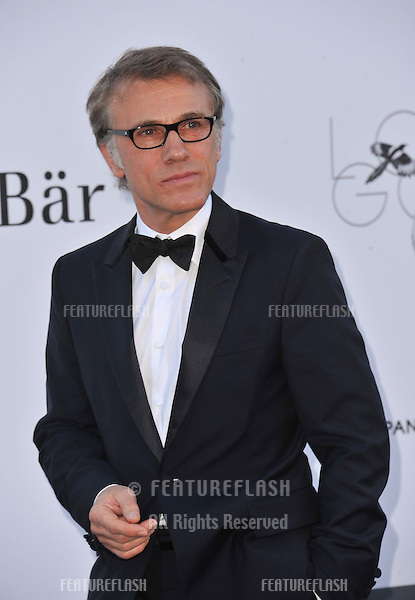 Christoph Waltz at amfAR's 20th Cinema Against AIDS Gala at the Hotel du Cap d'Antibes, France.May 23, 2013  Antibes, France.Picture: Paul Smith / Featureflash