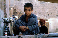 Pakistan  Peshawar  1986..Old City..Teenager..