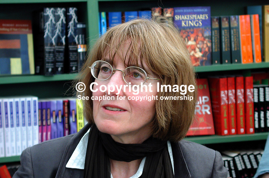 """Janet Todd, writer, author, biographer, Britain, UK. Author of """"A Vindication of the Rights of Woman"""". Taken at or during Hay Book Festival. Ref: 2000050510..Copyright Image from Victor Patterson, 54 Dorchester Park, Belfast, UK, BT9 6RJ..Tel: +44 28 9066 1296.Mob: +44 7802 353836.Voicemail +44 20 8816 7153.Skype: victorpattersonbelfast.Email: victorpatterson@mac.com.Email: victorpatterson@ireland.com (back-up)..IMPORTANT: If you wish to use this image or any other of my images please go to www.victorpatterson.com and click on the Terms & Conditions. Then contact me by email or phone with the reference number(s) of the image(s) concerned."""
