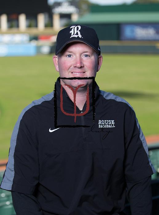 Rouse head baseball coach Paul Cochran  (LOURDES M SHOAF for Round Rock Leader - lulyphoto.com)