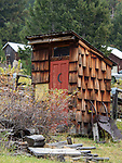 Elkhorn Ghost Town Outhouse