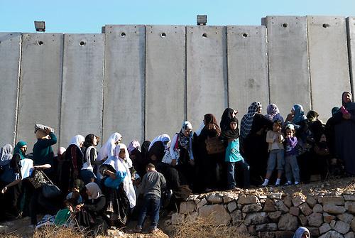 Checkpoint of Bethlehem during ramadan 2010