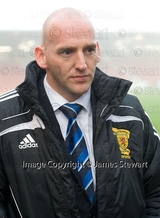 REFEREE BOBBY MADDEN  AFTER HE CALLED THE GAME OFF.