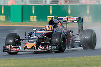 March 18, 2016: Carlos Sainz (ESP) #55 from the Scuderia Toro Rosso team during practise session two at the 2016 Australian Formula One Grand Prix at Albert Park, Melbourne, Australia. Photo Sydney Low