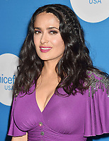 BEVERLY HILLS, CA - APRIL 14: Actress/producer Salma Hayek attends the 7th Biennial UNICEF Ball at the Beverly Wilshire Four Seasons Hotel on April 14, 2018 in Beverly Hills, California.<br /> CAP/ROT/TM<br /> &copy;TM/ROT/Capital Pictures