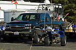 Chevy pickup and quads