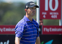 Greg Chalmers of Australia in action during his third round at the Emirates Australian Open Golf