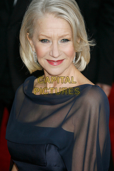 28 January 2007 - Los Angeles, California - Helen Mirren. 13th Annual Screen Actors Guild Awards held at the Shrine Auditorium. Photo Credit: Russ Elliot/AdMedia