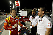 2017 IndyCar Media Day - Track Action<br /> Phoenix Raceway, Arizona, USA<br /> Saturday 11 February 2017<br /> Marco Andretti and Honda Engineers<br /> World Copyright: Michael L. Levitt/LAT Images<br /> ref: Digital Image _AT_4121