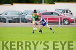 Kerry's Jane Lynch races clear of the Waterford defence during their clash in the Munster Championship game in Brosna on Saturday.