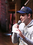 "Taran Killam during The Rockefeller Foundation and The Gilder Lehrman Institute of American History sponsored High School student #EduHam Q & A  before matinee performance of  ""Hamilton"" at the Richard Rodgers Theatre on 3/29/2017 in New York City."
