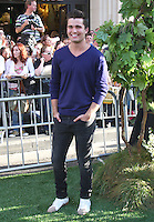 Spencer Boldman arrives at the The Odd Life Of Timothy Green' - Los Angeles Premiere at the El Capitan Theatre on August 6, 2012 in Hollywood, California  MPI28 / Mediapunchinc /NortePhoto.com<br />