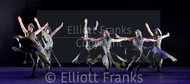 Sadler's Wells Sampled <br /> at Sadler's Wells, London, Great Britain <br /> press photocall / rehearsals <br /> 2nd February 2017 <br /> <br /> <br /> Northern Ballet <br /> Casanova <br /> <br /> <br /> <br /> Photograph by Elliott Franks <br /> Image licensed to Elliott Franks Photography Services
