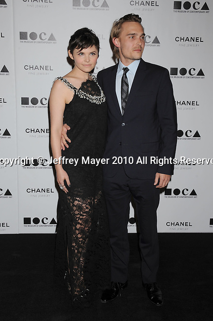 LOS ANGELES, CA. - November 13: Ginnifer Goodwin and Joey Kern arrive at MOCA Presents: Envisioned By Artist Doug Aitken at MOCA Grand Avenue on November 13, 2010 in Los Angeles, California.