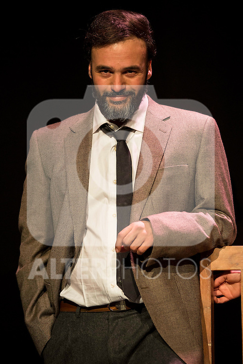 Liberto Rabal during the theater play of &quot;Hacia el amor&quot; at Teatros Luchana in Madrid, March 01, 2016<br /> (ALTERPHOTOS/BorjaB.Hojas