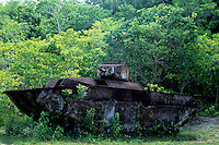 World War II American Tank,<br /> Palau