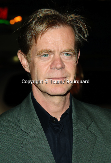 William H. Macy arriving at the SAHARA Premiere at the Chinese Theatre in Los Angeles. April 4, 2004.