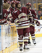 Dan Bertram (Joe Pearce, Anthony Aiello, Mike Brennan, Brett Motherwell) - The Boston University Terriers defeated the Boston College Eagles 2-1 in overtime in the March 18, 2006 Hockey East Final at the TD Banknorth Garden in Boston, MA.