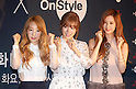"Press conference for the new variety TV show ""OnStyle"""