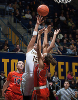 Brittany Boyd of California shoots the ball during the game against Oregon State at Haas Pavilion in Berkeley, California on January 3rd, 2014.  California defeated Oregon State, 72-63.