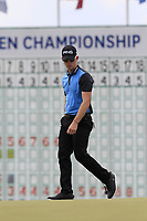 Brandon Stone (RSA) on the 18th green during Saturday's Round 3 of the 117th U.S. Open Championship 2017 held at Erin Hills, Erin, Wisconsin, USA. 17th June 2017.<br /> Picture: Eoin Clarke | Golffile<br /> <br /> <br /> All photos usage must carry mandatory copyright credit (&copy; Golffile | Eoin Clarke)
