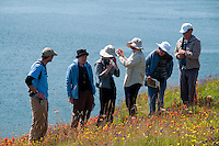 Group from North Cascades Institute Tours Yellow Island, San Juan Islands, Washington, US