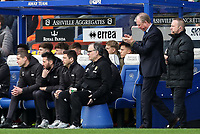Leeds United's manager Marcelo Bielsa looks on as Queens Park Rangers' manager Steve Maclaren applauds his side<br /> <br /> Photographer Andrew Kearns/CameraSport<br /> <br /> The Emirates FA Cup Third Round - Queens Park Rangers v Leeds United - Sunday 6th January 2019 - Loftus Road - London<br />  <br /> World Copyright &copy; 2019 CameraSport. All rights reserved. 43 Linden Ave. Countesthorpe. Leicester. England. LE8 5PG - Tel: +44 (0) 116 277 4147 - admin@camerasport.com - www.camerasport.com