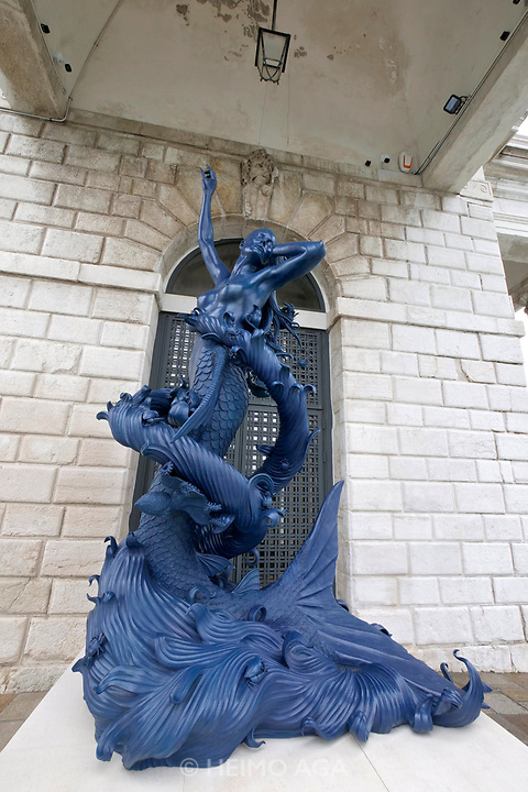 Punta della Dogana.<br /> Damien Hirst: Treasures from the Wreck of the Unbelievable.<br /> Mermaid.