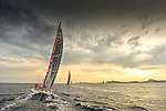 2014 - VOLVO OCEAN RACE - FIRST NIGHT AT SEA - SPAIN