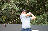Kurt Kitayama (USA) in action on the 4th hole during the first round of the 76 Open D'Italia, Olgiata Golf Club, Rome, Rome, Italy. 10/10/19.<br /> Picture Stefano Di Maria / Golffile.ie<br /> <br /> All photo usage must carry mandatory copyright credit (© Golffile | Stefano Di Maria)