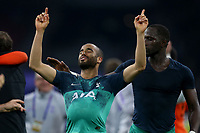 Lucas of Tottenham Hotspurcelebrates reaching the Champions League final with the match ball after AFC Ajax vs Tottenham Hotspur, UEFA Champions League Football at the Johan Cruyff Arena on 8th May 2019