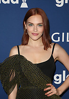 BEVERLY HILLS, CA - APRIL 12: Madeline Brewer, At the 29th Annual GLAAD Media Awards at The Beverly Hilton Hotel on April 12, 2018 in Beverly Hills, California. <br /> CAP/MPI/FS<br /> &copy;FS/MPI/Capital Pictures