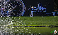 Rory McIlroy (NIR) on the 7th tee during the Final Round of the 2016 Omega Dubai Desert Classic, played on the Emirates Golf Club, Dubai, United Arab Emirates.  07/02/2016. Picture: Golffile | David Lloyd<br /> <br /> All photos usage must carry mandatory copyright credit (&copy; Golffile | David Lloyd)