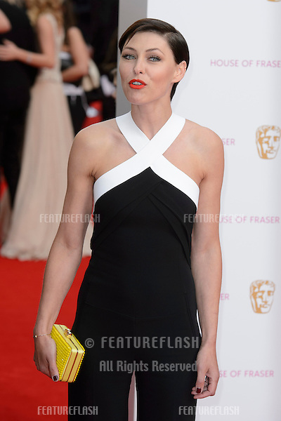 Emma Willis arriving at the TV Bafta Awards 2015, Theatre Royal, Dury Lane, London. 10/05/2015 Picture by: Dave Norton / Featureflash