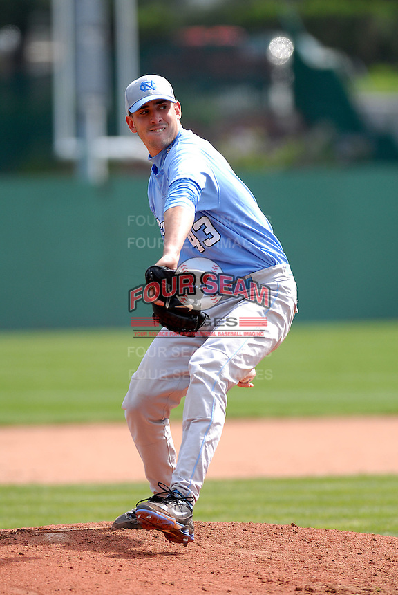 North Carolina Tar Heels' RHP Matt Harvey in action vs. Boston College at Shea Field, May 16, 2009 in Chestnut Hill, MA (Photo by Ken Babbitt/Four Seam Images)