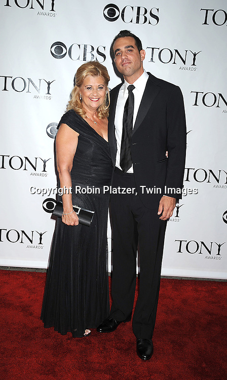 actor Bobby Cannavale and mom Isabelle Salvi.posing for photographers at the 62nd Annual Tony Awards.on June 15, 2008 at Radio City Music Hall. ..Robin Platzer, Twin Images