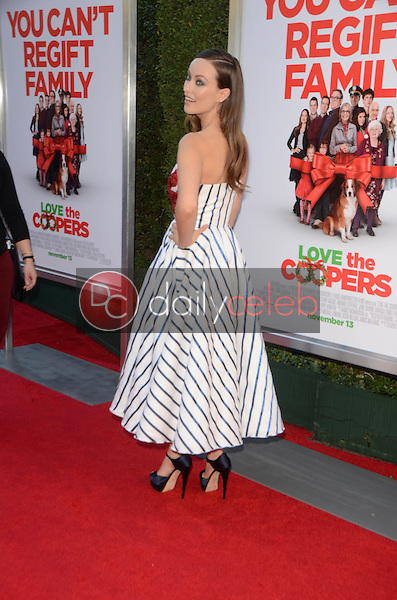 Olivia Wilde<br /> at the &quot;Love the Coopers&quot; Los Angeles Premiere, The Grove, Los Angeles, CA 11-12-15<br /> David Edwards/DailyCeleb.Com 818-249-4998