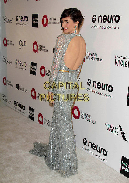 WEST HOLLYWOOD, CA - March 02: Paz Vega at the 22nd Annual Elton John AIDS Foundation Oscar Viewing Party Arrivals, Private Location, West Hollywood,  March 02, 2014. <br /> CAP/MPI/JO<br /> &copy;JO/MPI/Capital Pictures