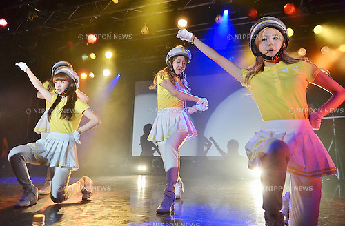"Crayon Pop, Aug 19, 2013 : Tokyo, Japan : Korean girl group Crayon Pop perform during their tour ""Jumping with Tokyo"" in Tokyo, Japan, on August 19, 2013."
