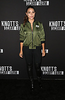 BUENA PARK, CA - SEPTEMBER 29: Jessica Parker Kennedy, at Knott's Scary Farm & Instagram's Celebrity Night at Knott's Berry Farm in Buena Park, California on September 29, 2017. Credit: Faye Sadou/MediaPunch