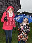 Breed Davy and Megan Butler at the Shane Whelan day at Naomh Mairtin GFC. Photo:Colin Bell/pressphotos.ie