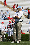 02 September 2006: UNC's Offensive Coordinator Frank Cignetti. The University of North Carolina Tarheels lost 21-16 to the Rutgers Scarlett Knights at Kenan Stadium in Chapel Hill, North Carolina in an NCAA Division I College Football game.