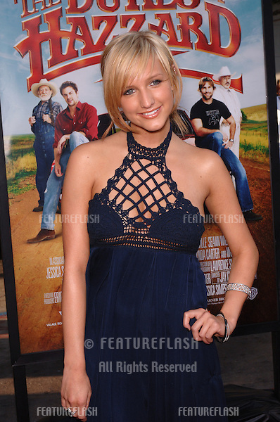 Pop star ASHLEE SIMPSON at the Los Angeles premiere of her sister Jessica's new movie The Dukes of Hazzard..July 28, 2005 Los Angeles, CA.© 2005 Paul Smith / Featureflash